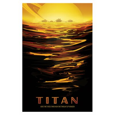 Visions of the Future Series: Titan Graphic Art on Wrapped Canvas