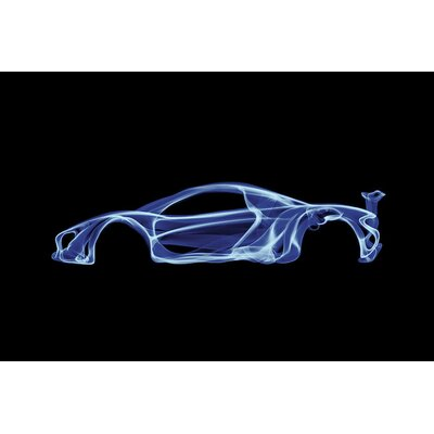 McLaren P1 Graphic Art on Wrapped Canvas Size: 12