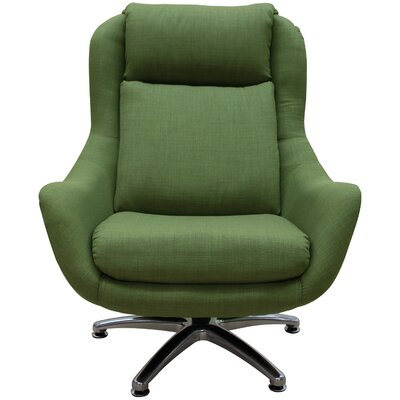Linda Swivel Lounge Chair Upholstery: Oregano