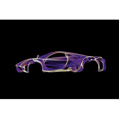 Pagani Huayra Graphic Art on Wrapped Canvas