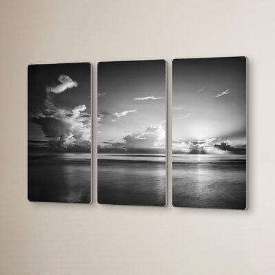 Atlantic Sunrise No.27o 3 Piece Photographic Print Set