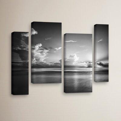 Atlantic Sunrise No.27 4 Piece Photographic on Wrapped Canvas Set
