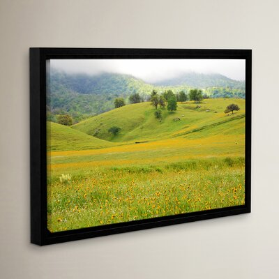 Field of Gold Framed Photographic Print