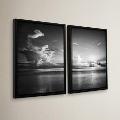 Atlantic Sunrise No.27 2 Piece Framed Photographic Print Set