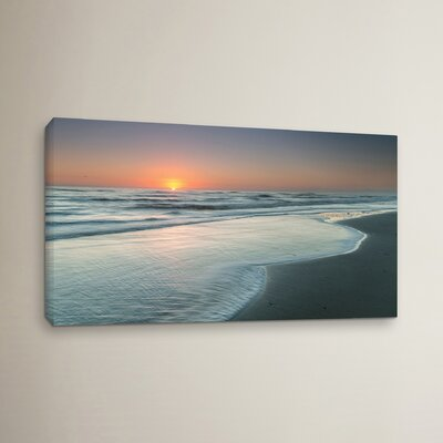 Atlantic Sunrise No.8 Photographic Print on Wrapped Canvas