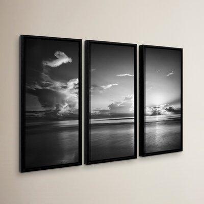 Atlantic Sunrise No.27 3 Piece Framed Photographic Print Set