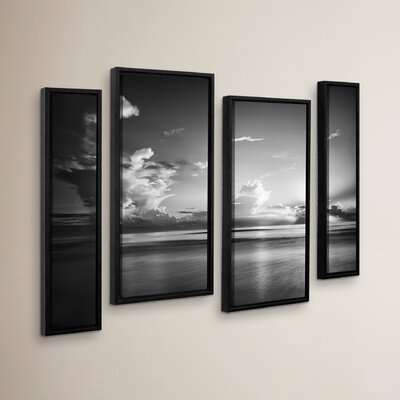 Atlantic Sunrise No.27 4 Piece Framed Photographic Print Set