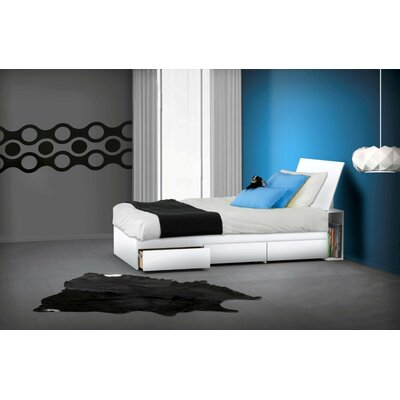 Chelsey Platform Bed with Storage