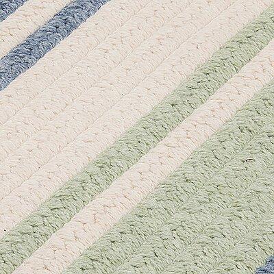 Caitlin Hand-Woven Blue/Beige Area Rug Rug Size: 12 x 15
