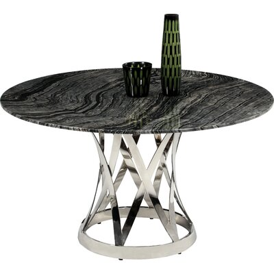 Elkin 5 Piece Marble Dining Set
