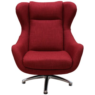 Watsons Wingback Chair Upholstery: Cherry