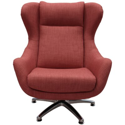 Watsons Wingback Chair Color: Spice