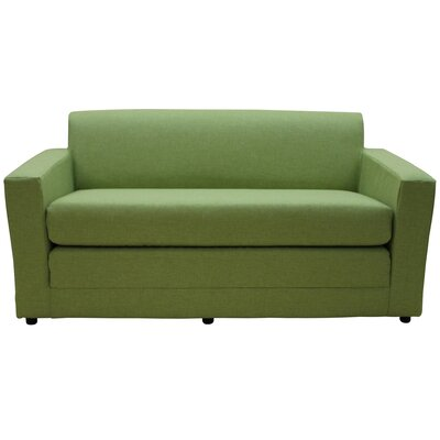 Marcia Sleeper Sofa Color: Taylor Grasscloth