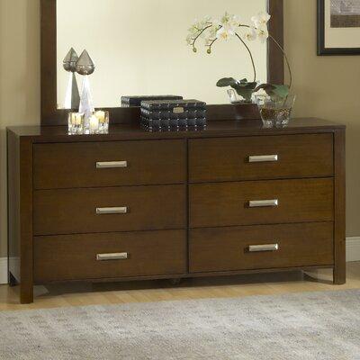 Lottie 6 Drawer Standard Dresser