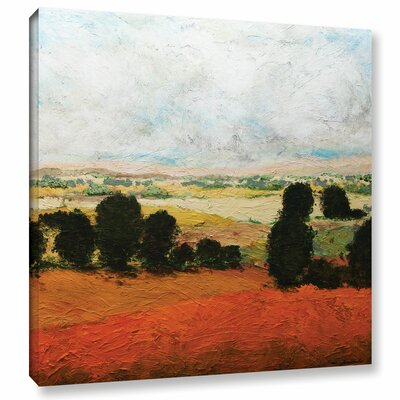 45 Acres Painting Print on Wrapped Canvas Size: 10