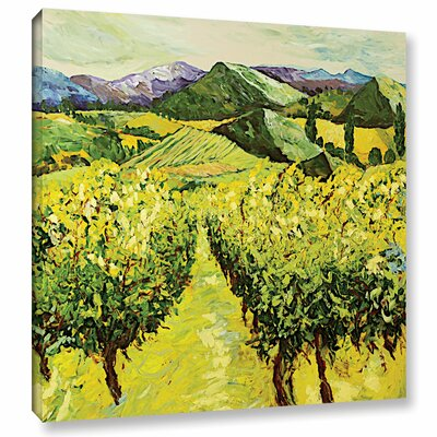 A Good Year Painting Print on Wrapped Canvas