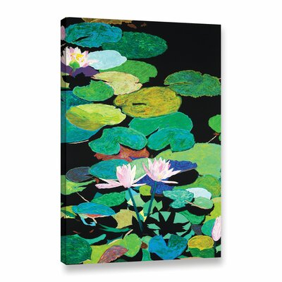 Blair's Magic Pond Framed Painting Print on Wrapped Canvas Size: 18