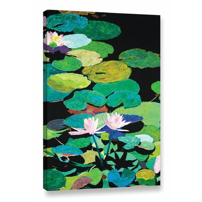 Blair's Magic Pond Painting Print on Wrapped Canvas Size: 18