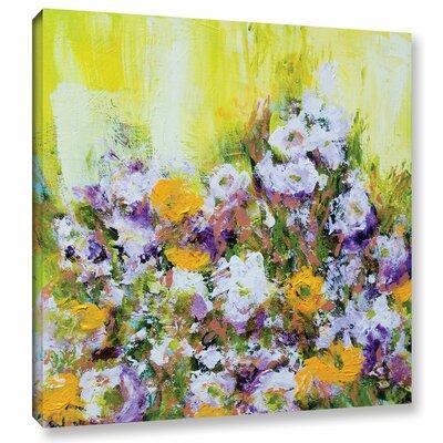 Bois De Vincennes Garden Painting Print on Wrapped Canvas