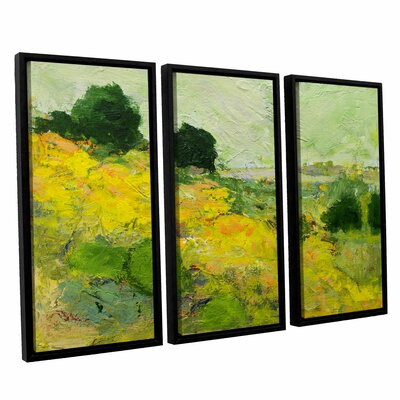 Brighton 3 Piece Framed Painting Print on Canvas Set
