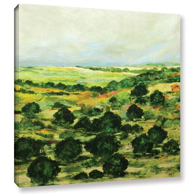 Broom Croft Framed Painting Print on Wrapped Canvas