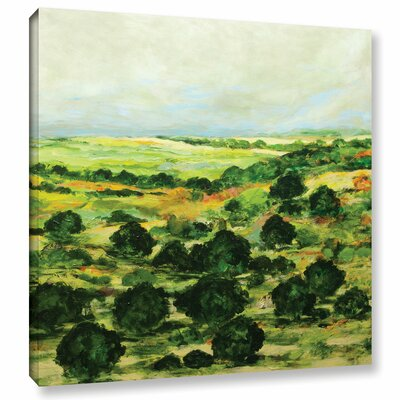Broom Croft Painting Print on Wrapped Canvas