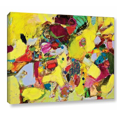 Bumble Painting Print on Wrapped Canvas Size: 14