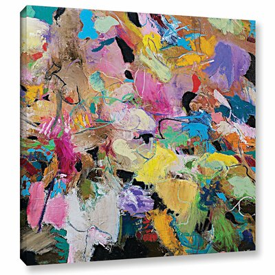 Capri Painting Print on Wrapped Canvas Size: 10