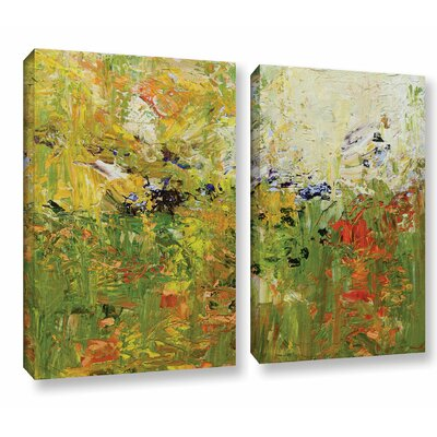 Chester 2 Piece Painting Print on Wrapped Canvas Set Size: 18