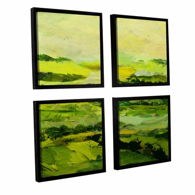 Chipping Norton 4 Piece Framed Painting Print on Canvas Set Size: 36