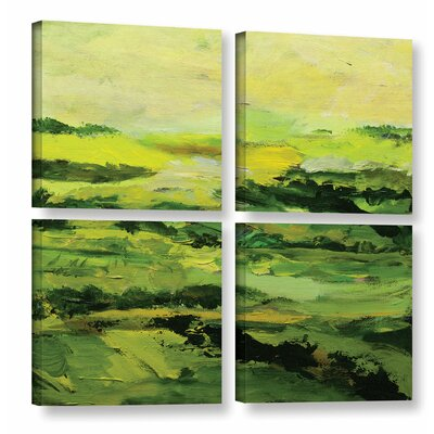 Chipping Norton 4 Piece Painting Print on Wrapped Canvas Set