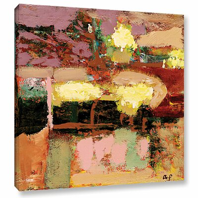 Chop Liver Framed Painting Print on Wrapped Canvas