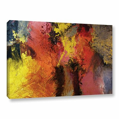 Fire and Brimstone Framed Painting Print on Wrapped Canvas