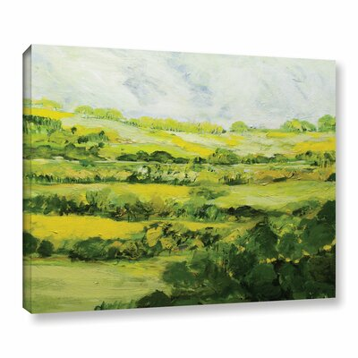 Folkestone Framed Painting Print on Wrapped Canvas