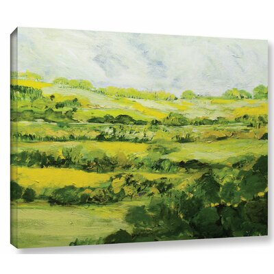 Folkestone Painting Print on Wrapped Canvas