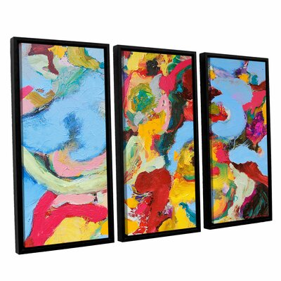 Gathering Season 3 Piece Framed Painting Print on Canvas Set