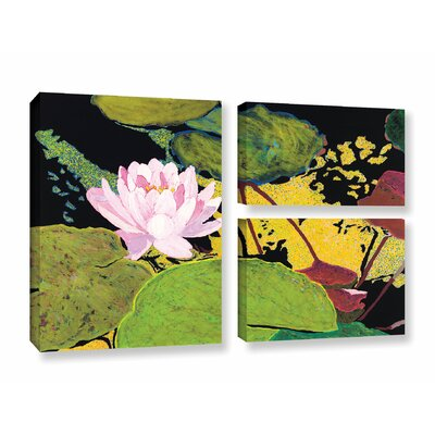 Georgia Summer 3 Piece Painting Print on Wrapped Canvas Set