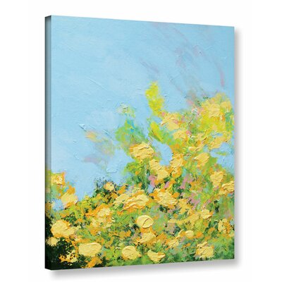 Ringling Garden Painting Print on Wrapped Canvas