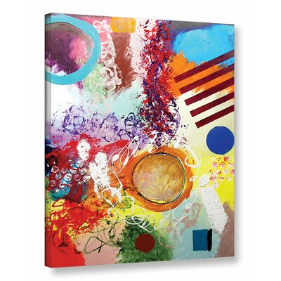 Starting Anew Framed Painting Print on Wrapped Canvas Size: 18