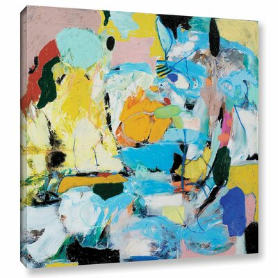World of Action Painting Print on Wrapped Canvas Size: 10