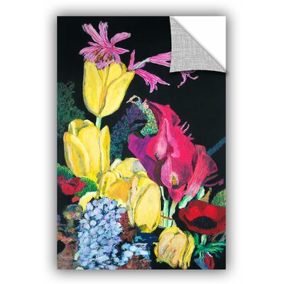 Milperra Yellow Tulips Wall Mural Size: 18