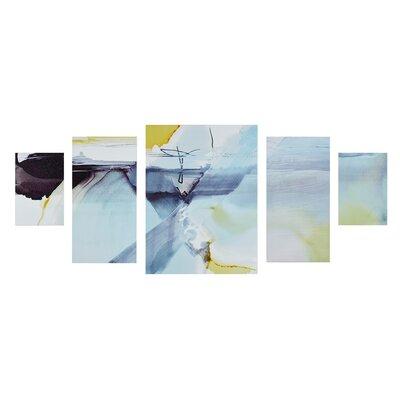 Blue Skies Ahead 5 Piece Painting Print Set