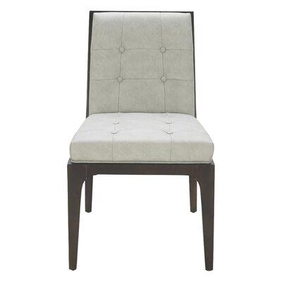 Peyton Side Chair Upholstery: Gray