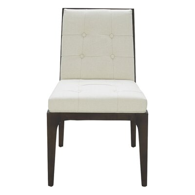 Peyton Side Chair Upholstery: Cream