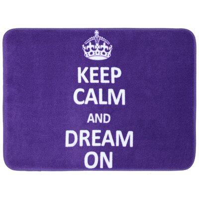 Keep Calm Dream Bath Mat