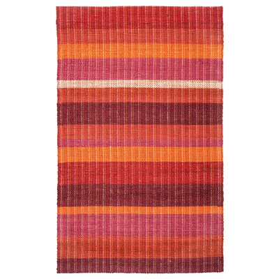 Rosella Hand-Braided Sunrise Area Rug Rug Size: 5 x 8