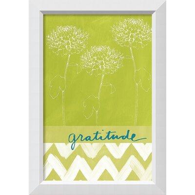 Gratitude Framed Graphic Art