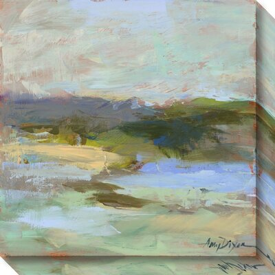 From Afar Graphic Art on Wrapped Canvas