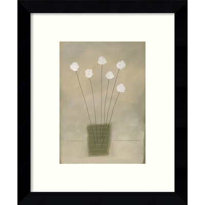 Amity Floral Framed Graphic Art