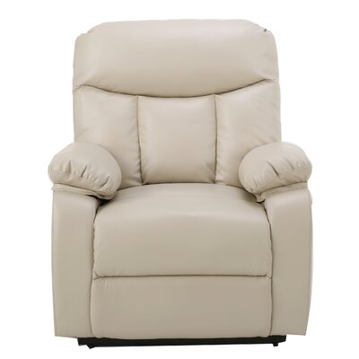 Sarah Power Lift Assist Recliner Color: Light Beige